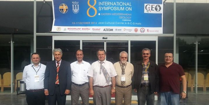 8th International Eastern Mediterranean Geology Sempozyumu